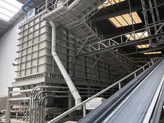 Instalacion de una planta de preparacion de materias primas