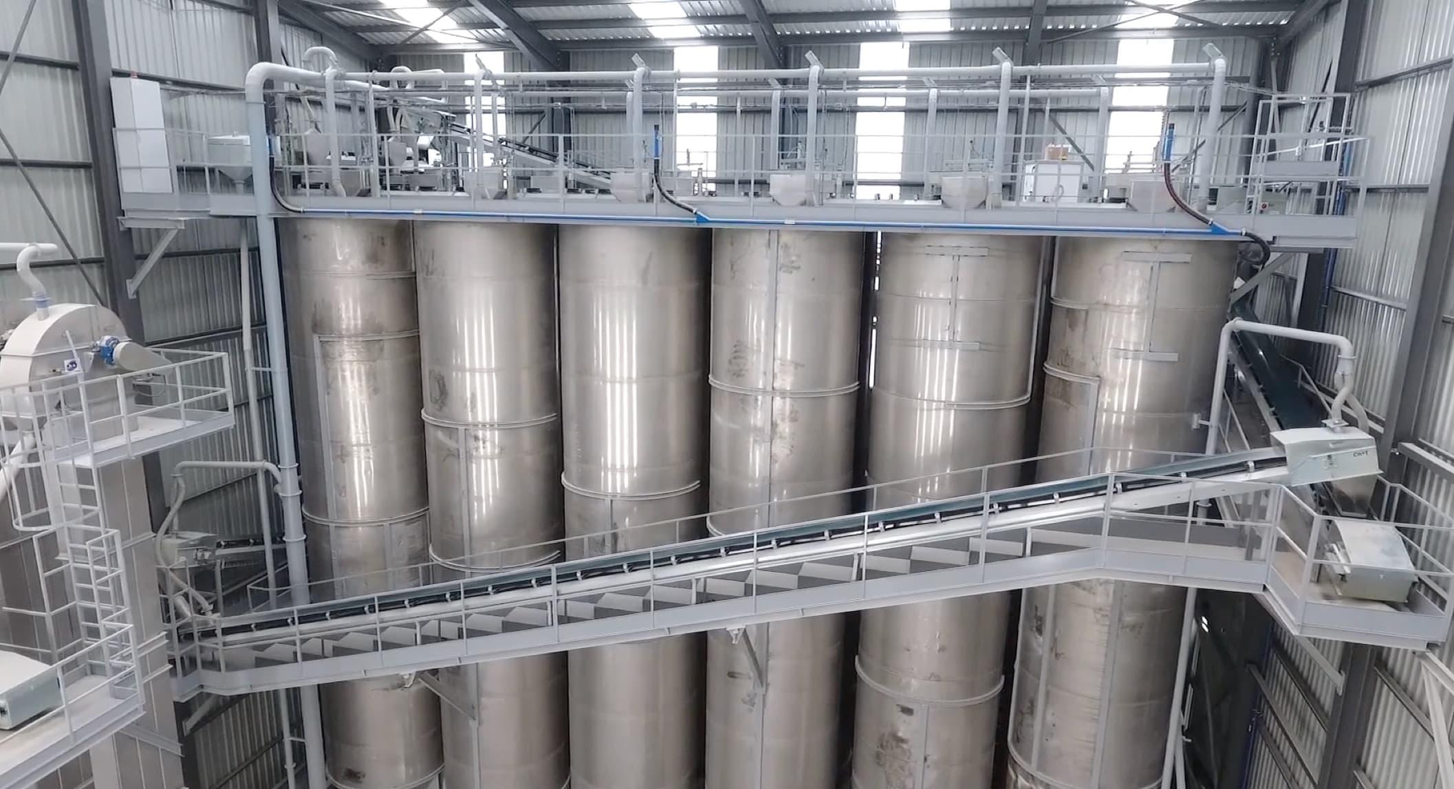Instalaciones de silos de Chumillas Technology