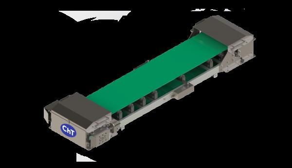 Transporte por cinta dosificadora