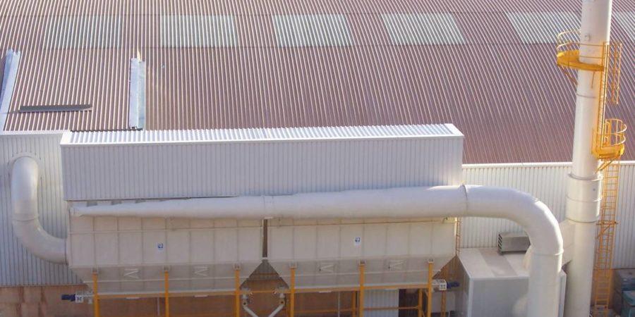 filtro de mangas para empresas industriales
