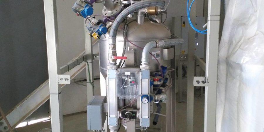 propulsor transporte neumatico en fase densa