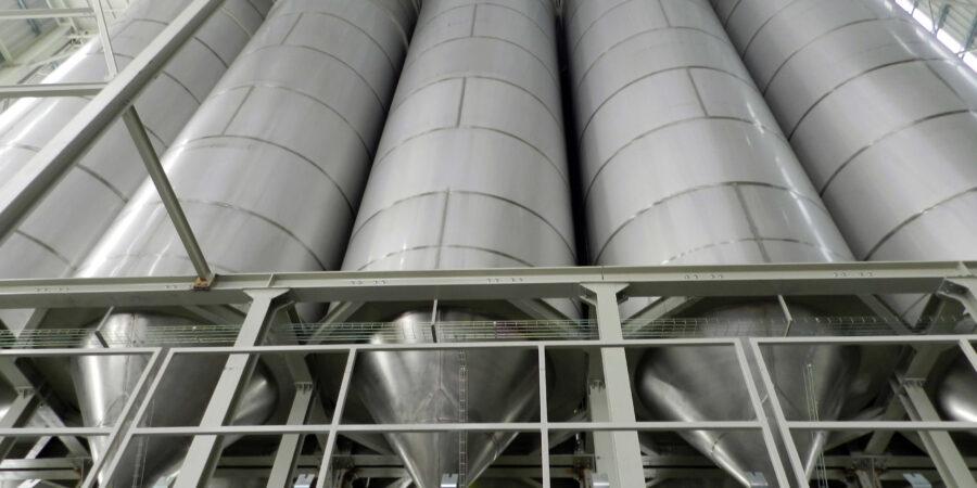 silos de almacenamiento para el sector ceramico