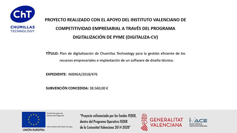 Subvención digitaliza CV