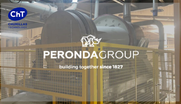 Peronda Group apuesta por la fiabilidad del Mezclador en seco MCV diseñado por Chumillas Technology
