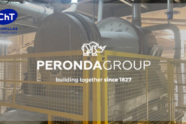 Peronda Group s'engage pour la fiabilité du mélangeur à sec MCV conçu par  Chumillas Technology