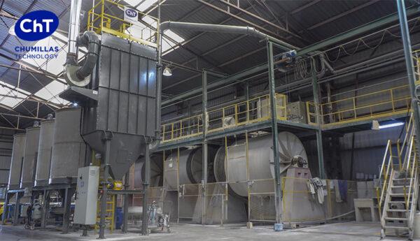 Chumillas Technology instala su Filtro de mangas para frenar la exposición al polvo de sílice libre