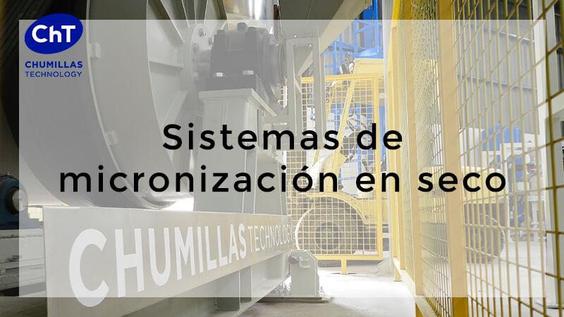 Sistema de micronización en seco