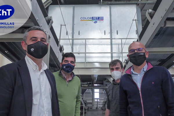 CHUMILLAS TECHNOLOGY instala el COLORJET 20 en PERONDA GROUP