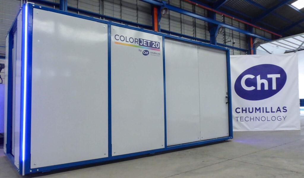 Sistema de coloracion en seco para el sector ceramico COLORJET 20