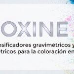 OXINE: Dosificadores gravimétricos y volumétricos para la coloración en seco