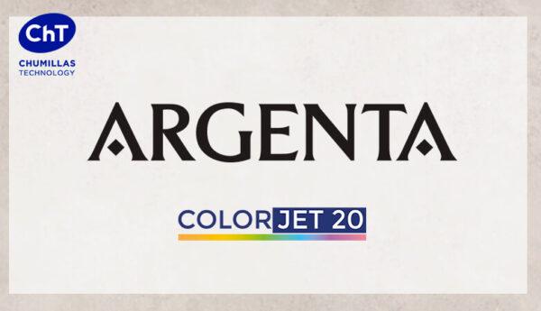 ARGENTA apuesta por el sistema de coloración en seco COLORJET 20