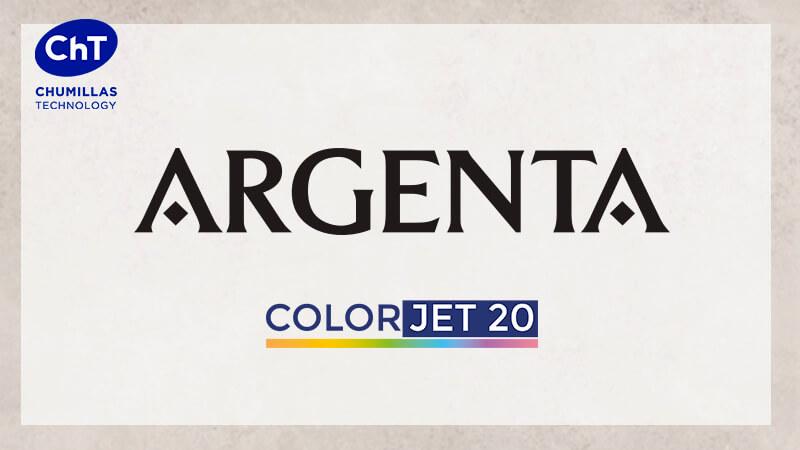 ARGENTA instala el sistema de coloración en seco COLORJET 20 de CHUMILLAS TECHNOLOGY