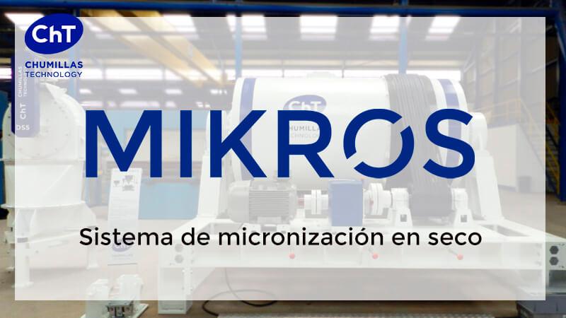 Micronizar con MIKROS