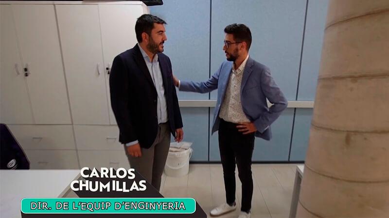 CHUMILLAS TECHNOLGY en El Premi de À Punt