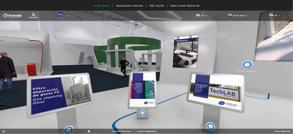 Visita el stand de la feria virtual permanente de CHUMILLAS TECHNOLOGY